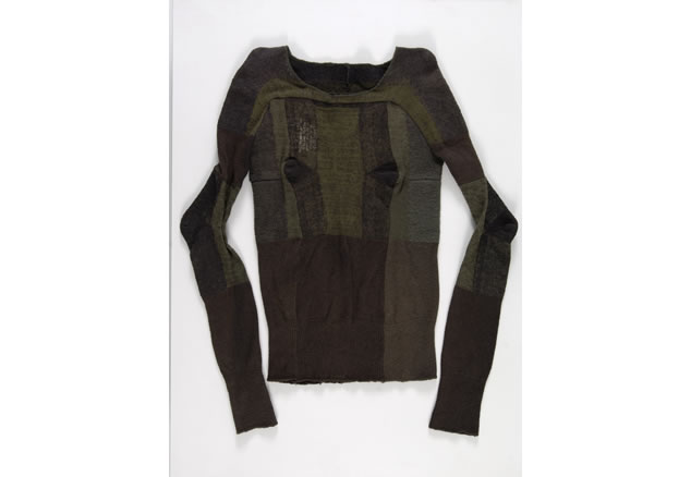 Woolen sweater made from military socks, Maison Martin Margiela, Autumn/Winter 1991/1992