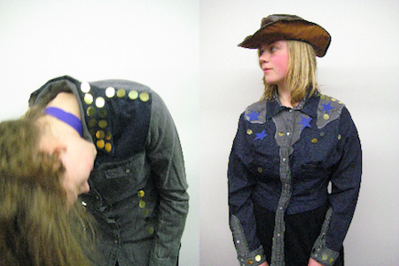 Blue Rodeo Cowgirls at the MoMu workshops! (c) MoMu, 2011