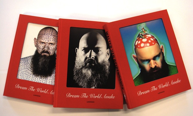Walter Van Beirendonck catalogue published by Lannoo and its interchangeable covers (c) MoMu, 2011