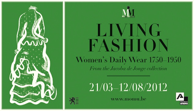 MoMu, Living Fashion, Campaign Image. Illustration: Sebastiaan Van Doninck, 2012