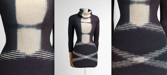 Christian Wijnants, 2011, commissioned piece for the Unravel: Knitwear in Fashion exhibition, Photography: Hugo Maertens