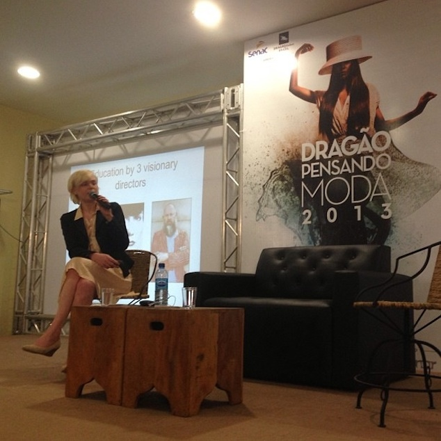 Lecture at Dragaõ Fashion Week in Fortaleza