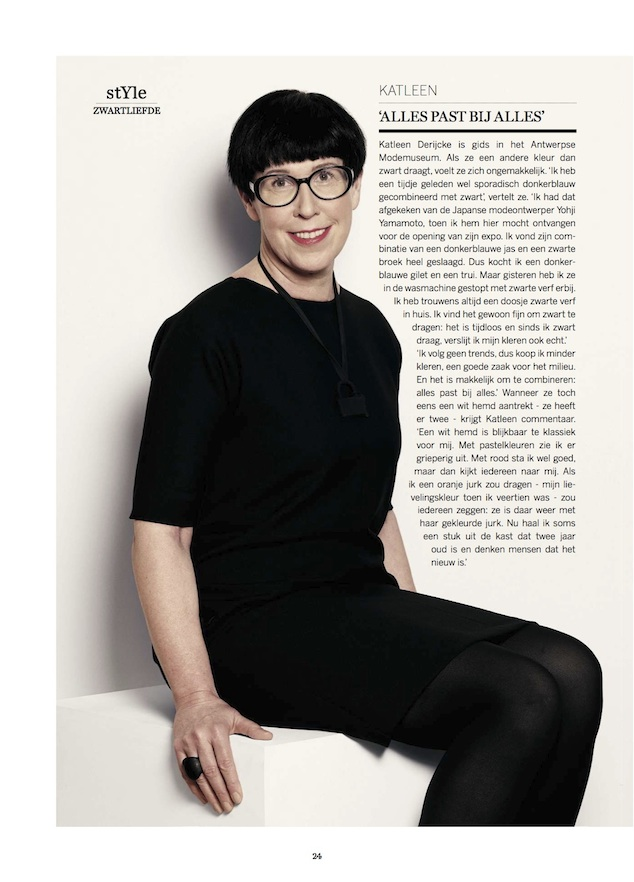 (c) De Standaard Magazine, April 13th 2013, Portrait: Geert Joostens