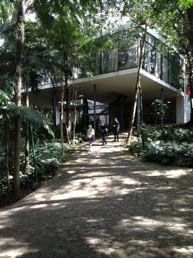 Daily architecture digest: visit to Casa Lina Bo Bardi
