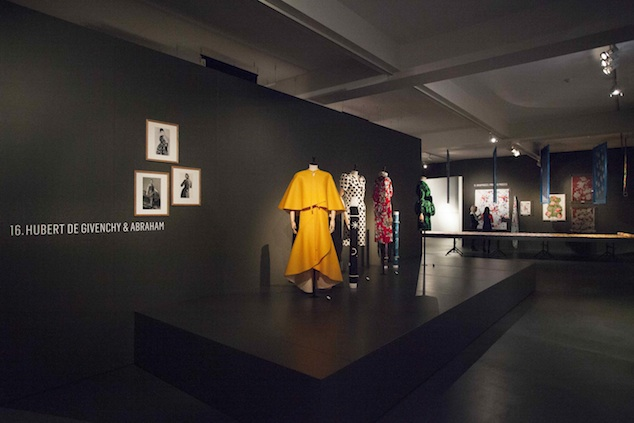 Couture in Colour featuring Hubert de Givenchy at MoMu Antwerp, 2013, Photo: Boy Kortekaas