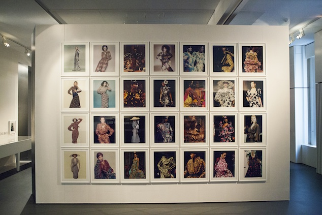 Fashion plates from the 1980s & 1990s of the Abraham Archive at the MoMu Antwerp, 2013, Photo Boy Kortekaas