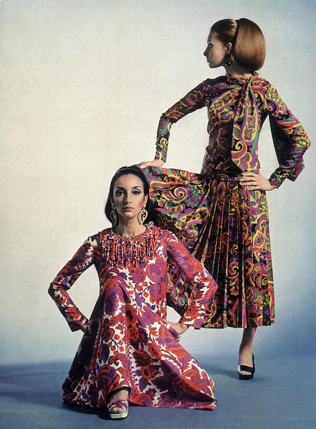 Yves Saint Laurent, Summer 1967 © L'art et la Mode, Textil Report