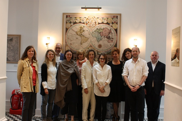 The speakers at the Clothing Eros conference in Oxford, 2013
