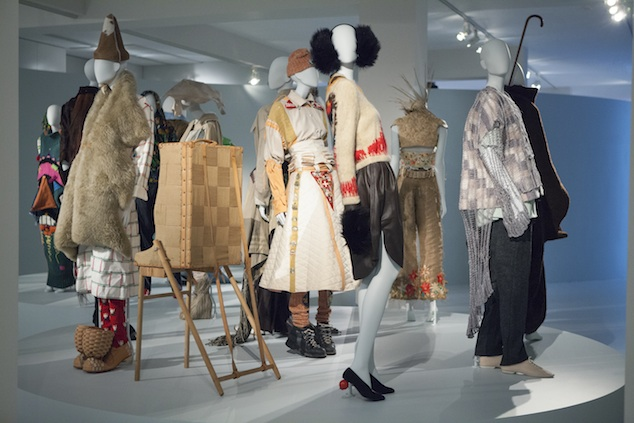 Custom-made mannequins by BONAMI exclusively made for the expo 50 Years Antwerp Fashion Department, Photo: Boy Kortekaas
