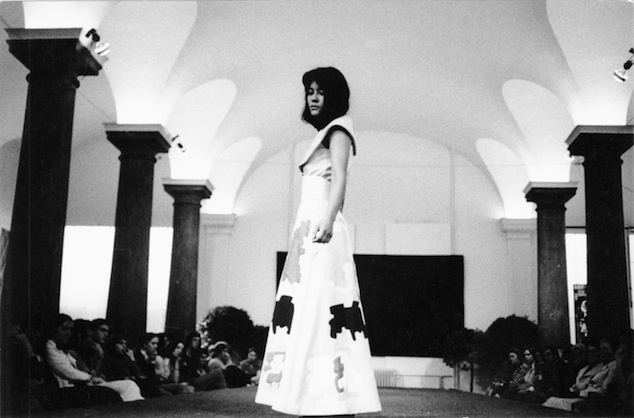 Presentation of the Antwerp Fashion Department, collection Fred De Bouvry, 1971, Photo Hilaire De Moor