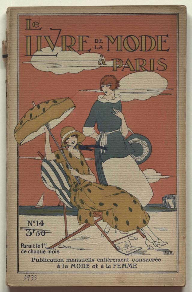 Cover image Le Livre de la Mode à Paris, Nr14, 1920, MoMu Library collection