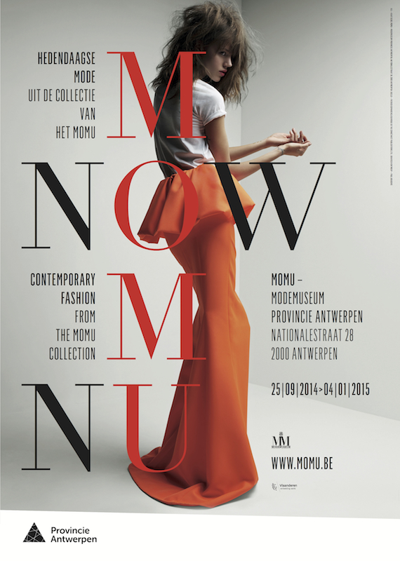 MoMu Now exhibition poster