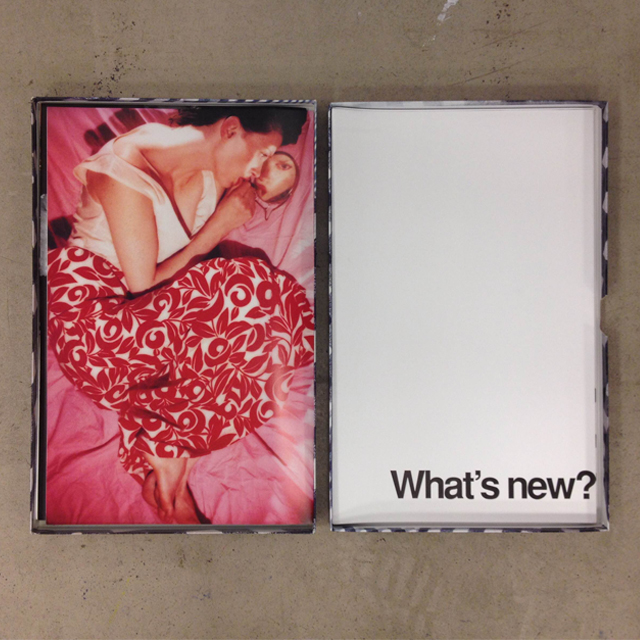Visionaire n.20 Comme des Garçons, a recent acquisition for the MoMu Library, Photo: Dylan Colussi