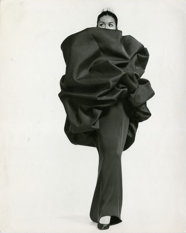 Cristobal Balenciaga, A/W 1967, Photo: Balenciaga Archives