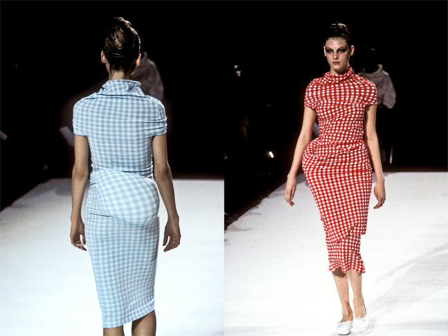 Comme des Garçons, 'Body Meets Dress, Dress Meets Body' spring/summer 1997. Photo: Yannis Vlamos